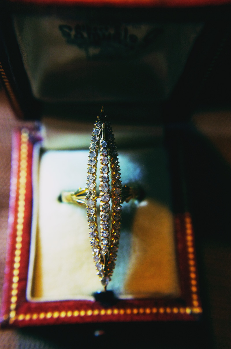 antique hand cut diamonds