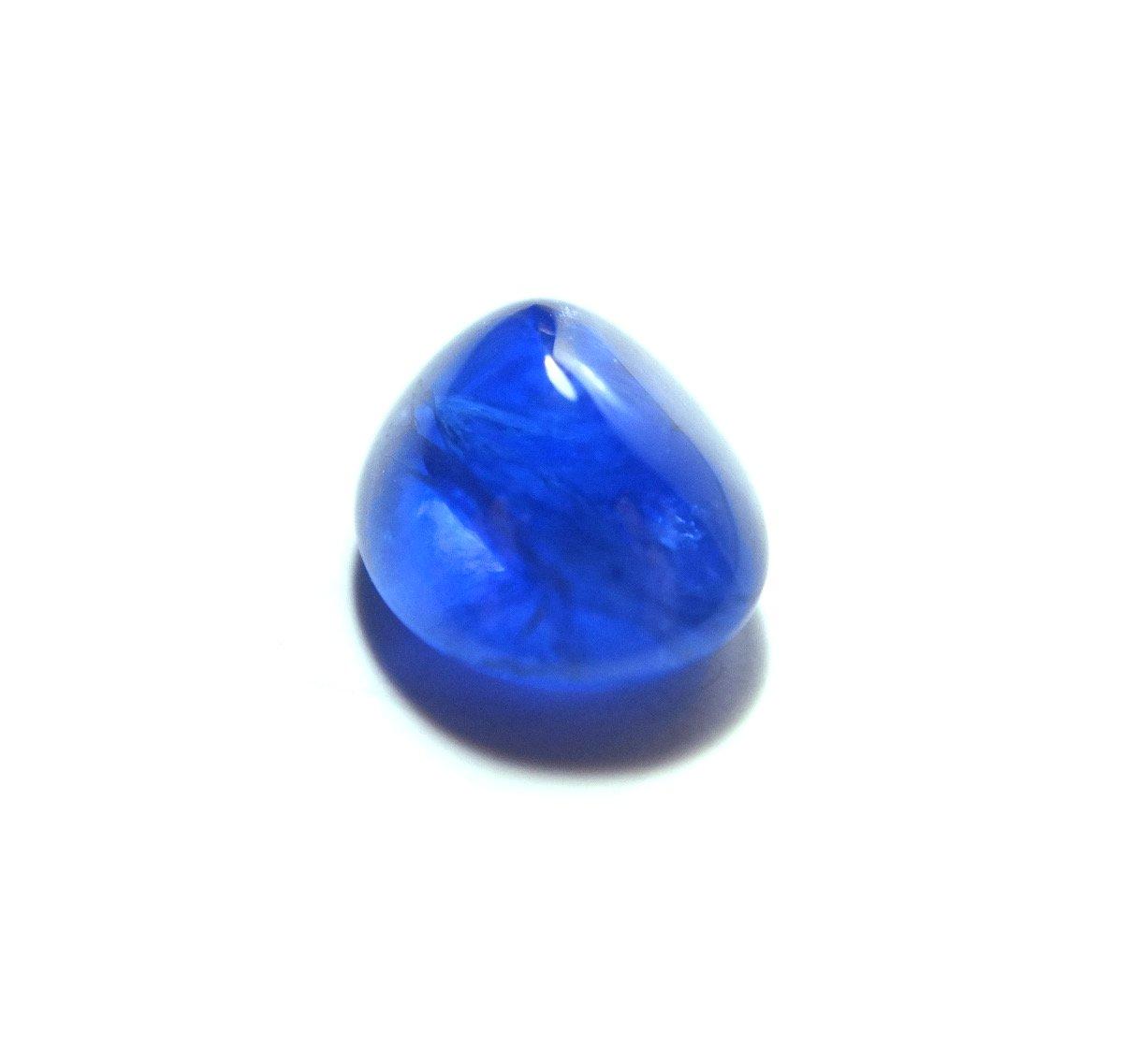 Burmese blue sapphire sugarloaf